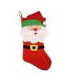 Kerstsok kerstman 48 cm