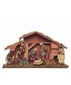 Kerststal met 8 figuren 40 cm