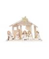 Kerststalletje met beeldjes 26 cm