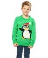 Foute pinguin print truien