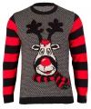 Foute print dames truien Rudy Reindeer