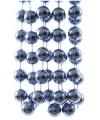 Kralen slinger blauw 270 cm