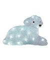 Led verlichting hond liggend 37 cm