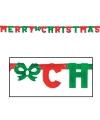 Letter guirlande Merry Christmas