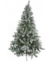 Kunst kerstbomen besneeuwd 210 cm