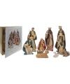 Luxe kerstfiguren 10 delig in box