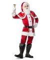 Luxe kerstman outfit voor heren