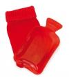 Klein handwarmer kruikje rood gekleurd