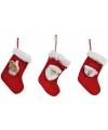 Mini kerstsok met kerstman