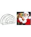 Servettenhouder met kerst servetten kadozak