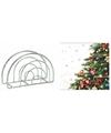 Servettenhouder met kerst servetten kerstboom