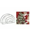 Servettenhouder met kerst servetten kerstman