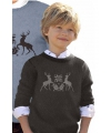 Foute print kinder truien met rendieren